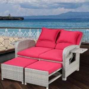 Indoor Leisure Furniture Garden Bedroom Balcony Lazy Sofa Rattan Deck Chair Gradient Adjustable pictures & photos