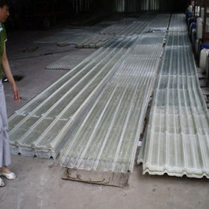 FRP Fiberglass Reinforced Plastic Corrugated Roof Skylight Sheet pictures & photos