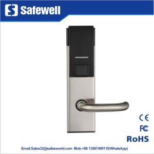 201 Stainless Steel Type 2 Handle Hotel Door Lock pictures & photos