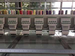 20 Head 9 Colors Flat Embroidery Machine pictures & photos