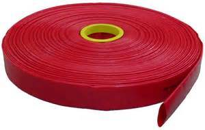 8 Inch Red PVC Irrigation Layflat Hose pictures & photos