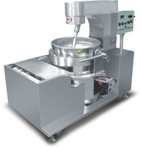 Automatic Industrial Cooking Pot with Mixer pictures & photos