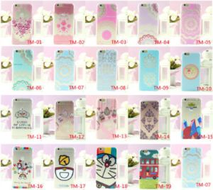 Soft Ultra Thin Back Cover Cartoon Case for Apple iPhone 6 6 Plus