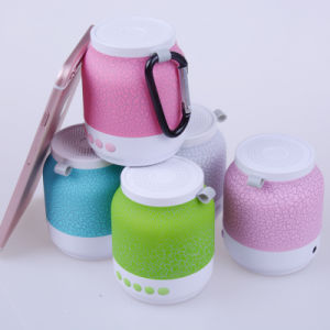 Amazing Crackle Pattern Professional Mini Portable Bluetooth Wireless Speaker pictures & photos
