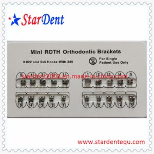 Dental Orthodontic Metal Mini Roth Bracket pictures & photos