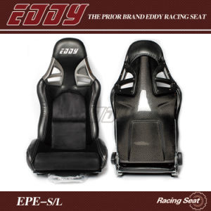 Black Suede/Embroidery/Velvet Recaro Adjustable Racing Seat with Carbon Fiber Recaro Reclining Seat