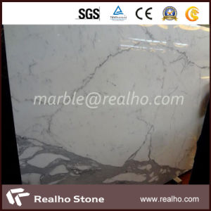 Top Polished Slab White Marble Stone for Wall Decoration pictures & photos
