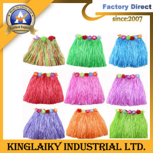 Holiday Gift/Hawaii Grass Skirt for Party Dress pictures & photos