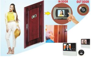 Wide Angle Peephole Eye Video Hole Camera pictures & photos