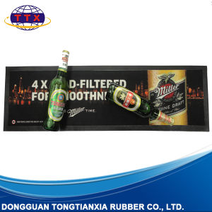Liquid Absorbent Long Promotional Custom Rubber Bar Mat pictures & photos