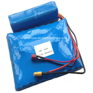 48V Rechargeable Lithium Ion Power Battery Pack (4.4Ah) pictures & photos
