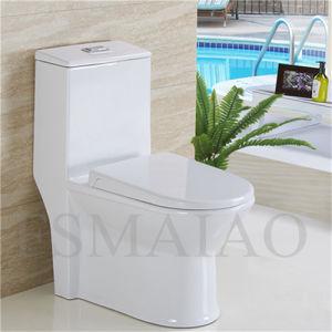Sanitary Wares Bathroom One Piece Ceramic Toilet Bowl (8107) pictures & photos