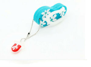 Cute Slipper Shoes Silicone 4GB / 8GB / 16GB / 32GB / 64GB USB 2.0 Flash Memory Stick Drive U Disk Accept Paypal pictures & photos