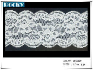 Jacquard Lace Trimming Elastic Lace for Underwear pictures & photos