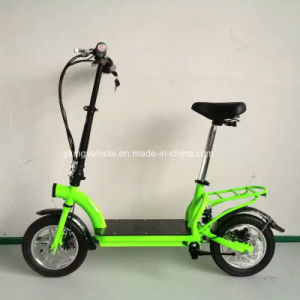 2016 Lithium Battery Folding Scooter City Electric Bike (ES-1202) pictures & photos