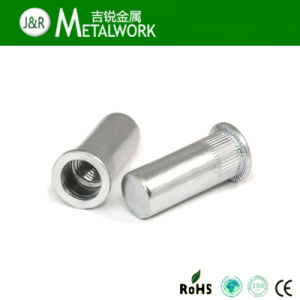 Stainless Steel Knurled Flat Head Blind Inner Thread Rivet Nut pictures & photos