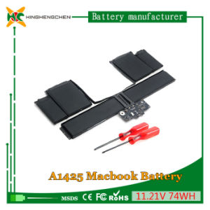 74wh 11.21V Battery for Apple MacBook A1437 A1425 Laptop Battery pictures & photos