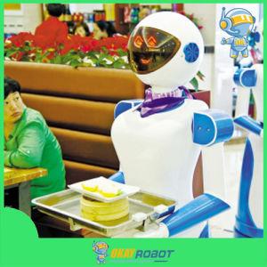 Okayrobot Smart Dishes Delivering Restaurant Robot