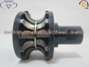 Segmented Router Bit Sintered Profiling Wheel pictures & photos