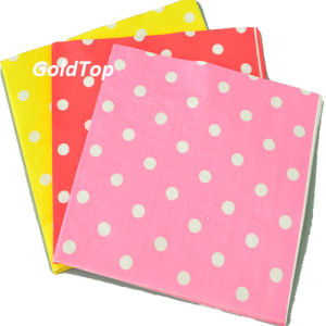 Cheap Price Paper Dinner Napkins Party Supplies pictures & photos