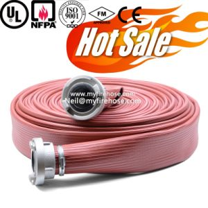 6 Inch High Pressure Durable Fabric PVC Fire Hose Price pictures & photos