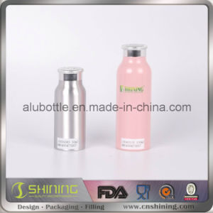 Pink Aluminum Talc Powder Bottle pictures & photos