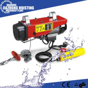 220V Electric Wire Rope Mini Hoist 250kg pictures & photos