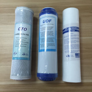 Water Treatment Cartridge Udf Carbon Filter Cartridge pictures & photos