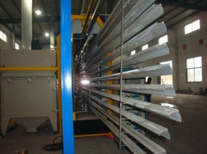 Complete Powder Coating Line for Coating Aluminium Profile pictures & photos