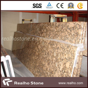 Natural Granite Giallo Fiorito Kitchen Countertop pictures & photos