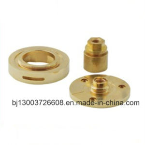 Brass CNC Lathe Washer Connectors Machining Parts