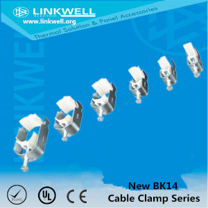 Small DIN Rail Mounting Cable Clamps Metal (BK14-18) pictures & photos