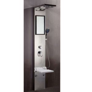 Luxury Bathroom Shower Panel/304 Stainless Steel Shower Panel (Nj-9827) pictures & photos