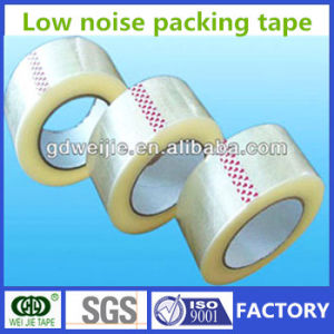Weijie Tape/Low Noise Adhesive BOPP Packaging Tape pictures & photos