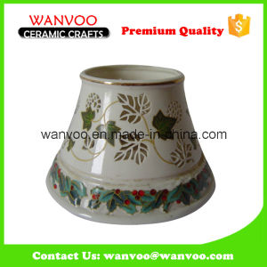 Beautiful Hand Painting Ceramic Candle Jar Shade for Home Decoration pictures & photos