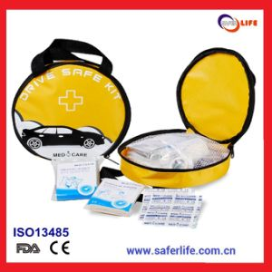 Yellow Car First Aid Kit Bag pictures & photos