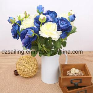 Single Stem Ranunculus Pick Artificial Flower (SW04804) pictures & photos