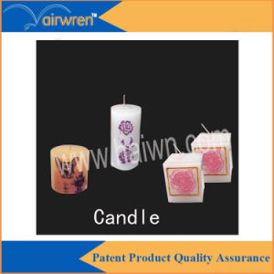 Digital UV Printer for Candle Printing with Six Colour pictures & photos
