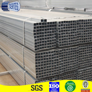 Hot sell galvanized square pipe pictures & photos