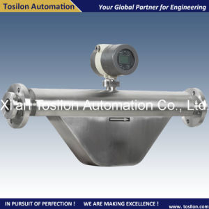Coriolis Mass Liquid Flow Meter for Bauxite Ore Pulp Slurry pictures & photos