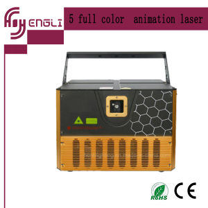 5W Full Color Animation Laser Light for Disco Stage (HL-087) pictures & photos