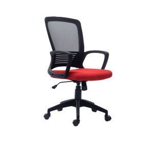MID Back Plastic Swivel Executive Meeting Visitor Staff Office Mesh Chair pictures & photos