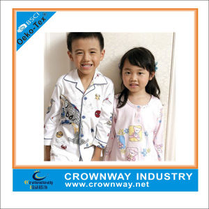 High Quality Soft Cotton Child Sleepwear with Custom Print pictures & photos