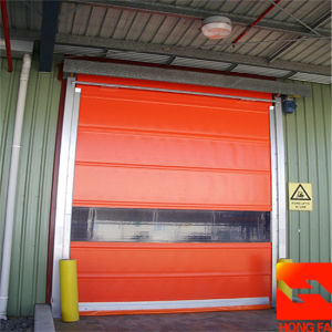 High Quality Ce Approved High Speed Roll up Door (HF-K436) pictures & photos
