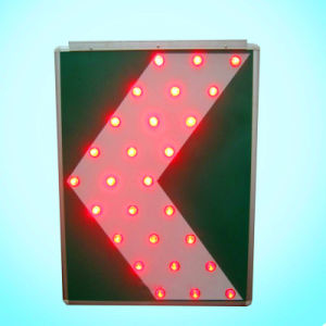 LED New Energy Vintage Aluminum Solar Traffic Sign / Road Sign pictures & photos