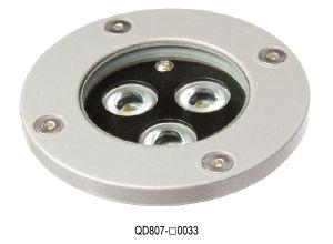 Qd807 3W LED Underground Light for Outdoor Licht