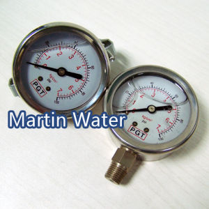 Pressure Gauges (SS304 complete) pictures & photos