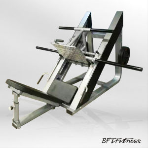 Plate Loaded 45 Degree Leg Press Exercise Machine pictures & photos