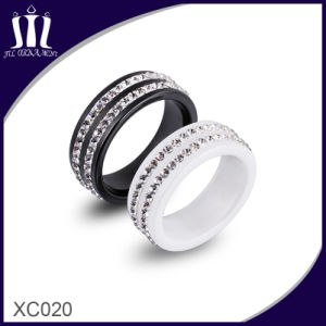 Xc020 Two Circle Stones Engagement Rings pictures & photos