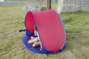 Carries Outdoor Portable Sunshelter Beach Tent for Camping pictures & photos
